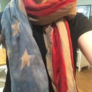 American Flag vintage scarf 🇺🇸